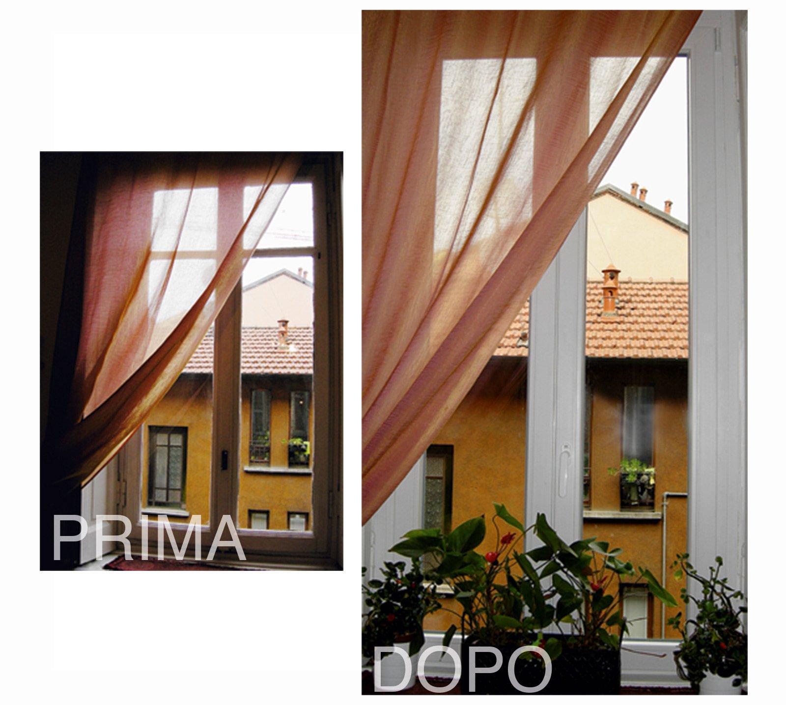Sostituire le finestre 14 fasi di lavoro cose di casa - Altezza parapetto finestra ...