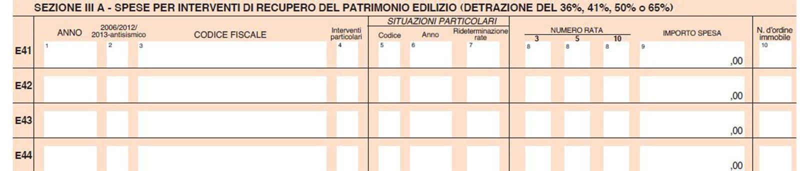 730 2014 mini guida sulla detrazione del 50 cose di casa for Bonifico ristrutturazione