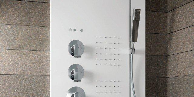 Colonne doccia multifunzione