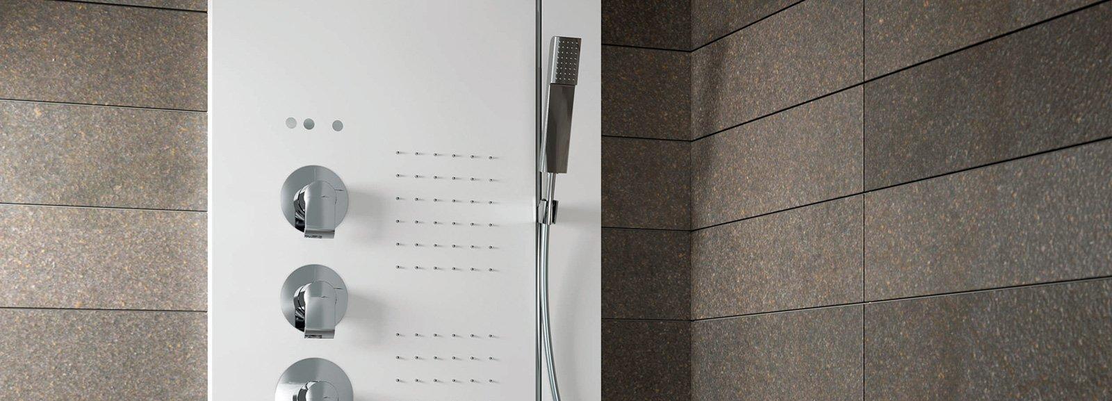 Colonne doccia multifunzione cose di casa for Colonne bagno moderne