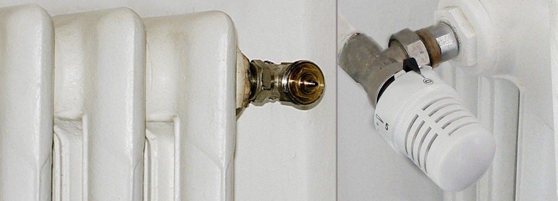 Valvole termostatiche per risparmiare sui consumi un for Installazione valvole termostatiche