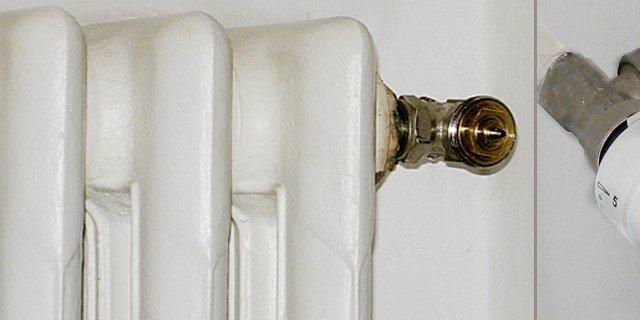 Valvole termostatiche per risparmiare sui consumi. Un esempio di installazione