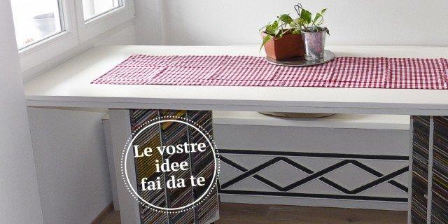 Tavolo fai da te cose di casa - Tavolo a muro fai da te ...