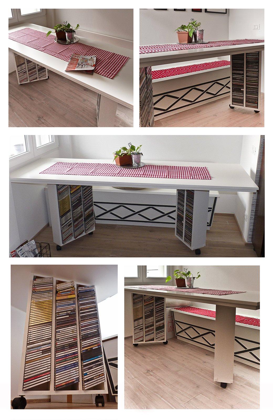 Un originale tavolo cose di casa for Casa di 4000 piedi quadrati