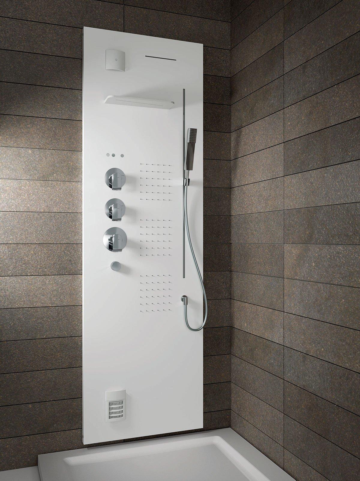 Colonne doccia multifunzione cose di casa - Douche high tech ...