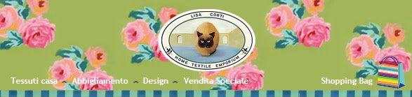 Vendita speciale online di home textile emporium cose di for Lisa corti tende