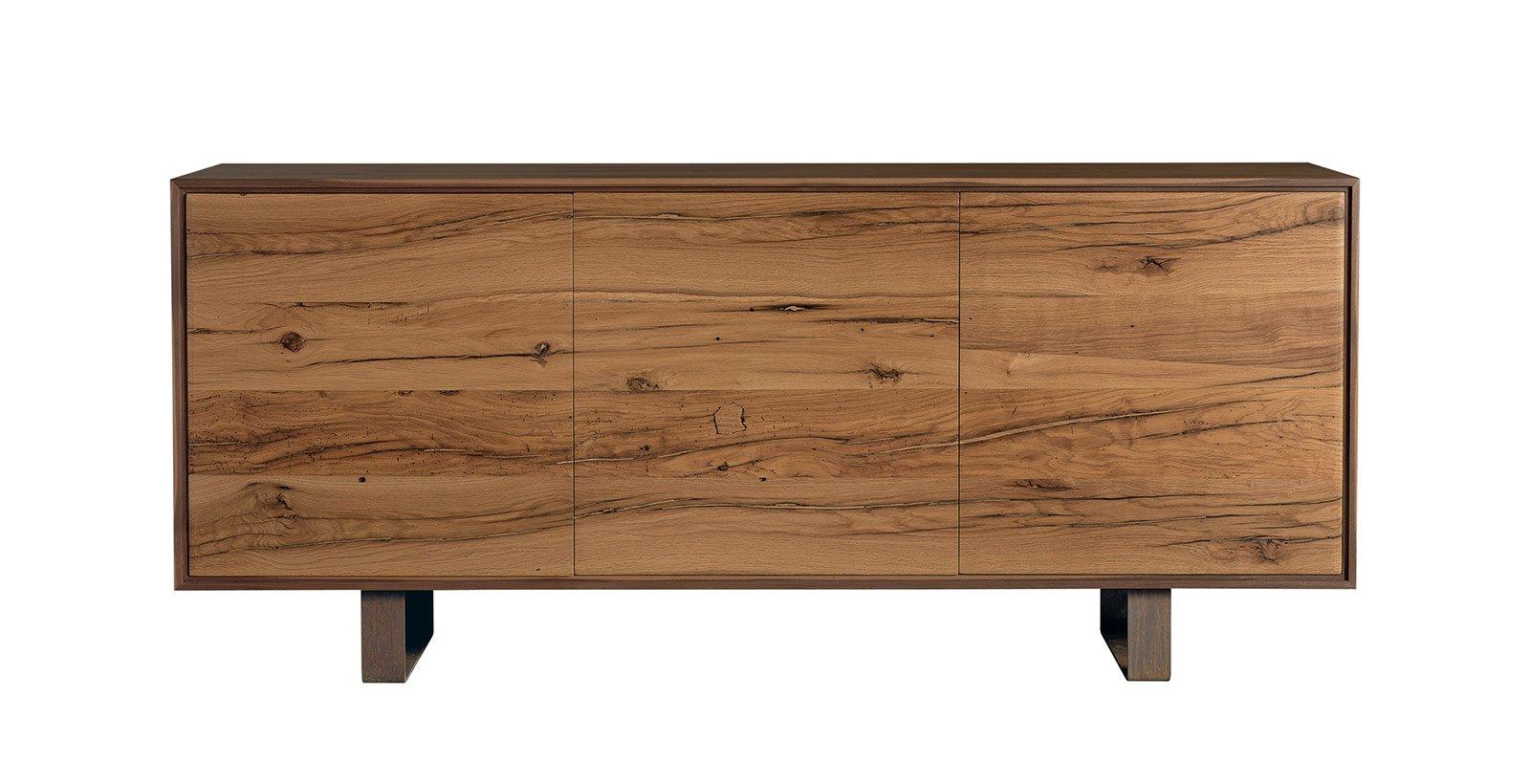Salone del mobile 2014 contenitori e madie con superfici for Mobili tinello