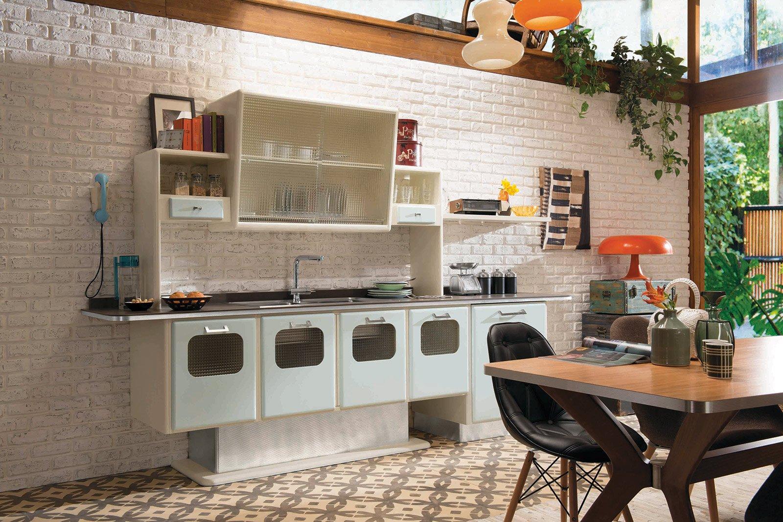 Di Eurocucina 2014. Con Design Rétro O Supermoderno Cose Di Casa #9D5D2E 1600 1068 Immagini Di Cucine Toscane