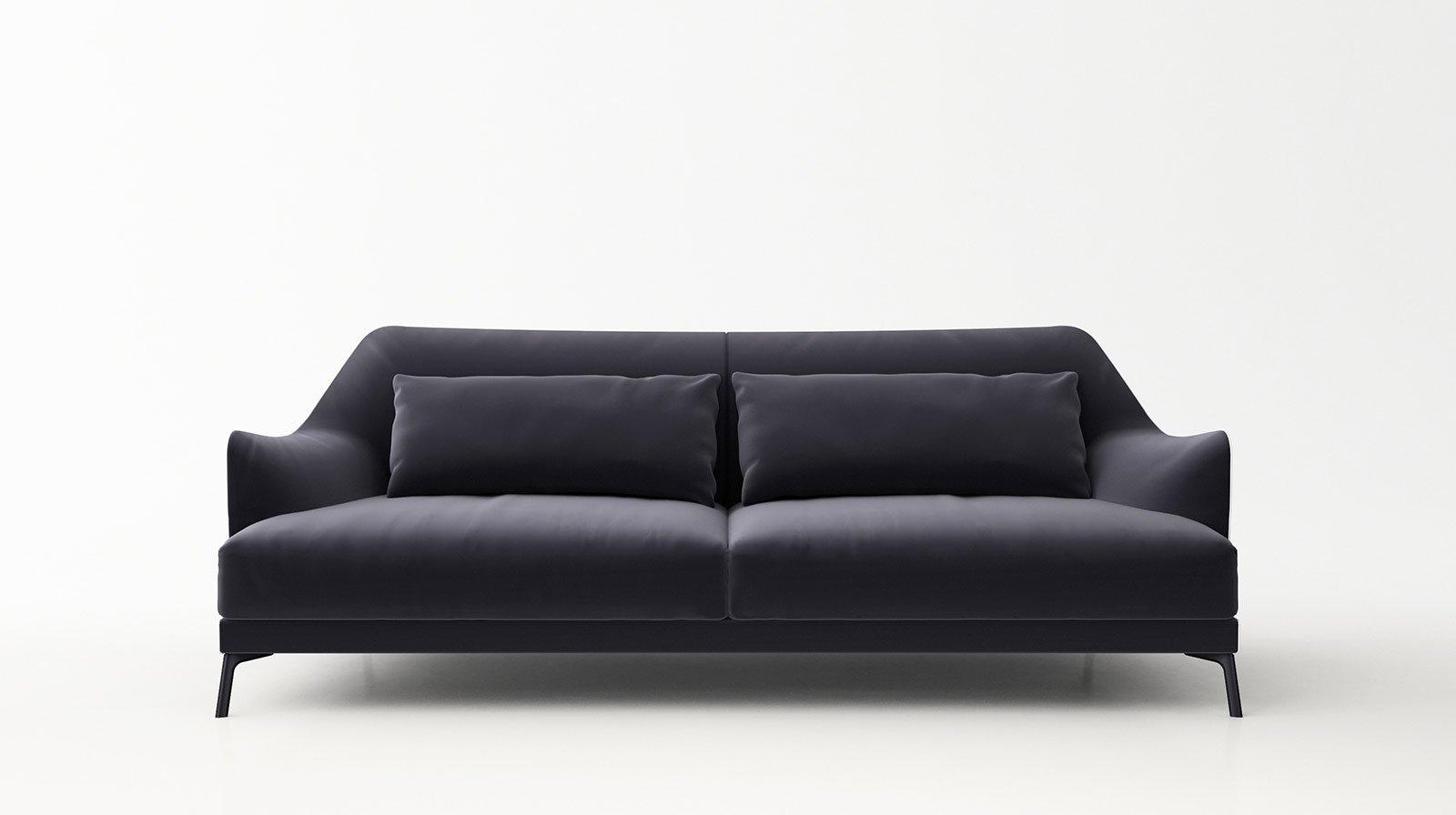 I nuovi divani in linea presentati al salone del mobile for Divano letto natuzzi