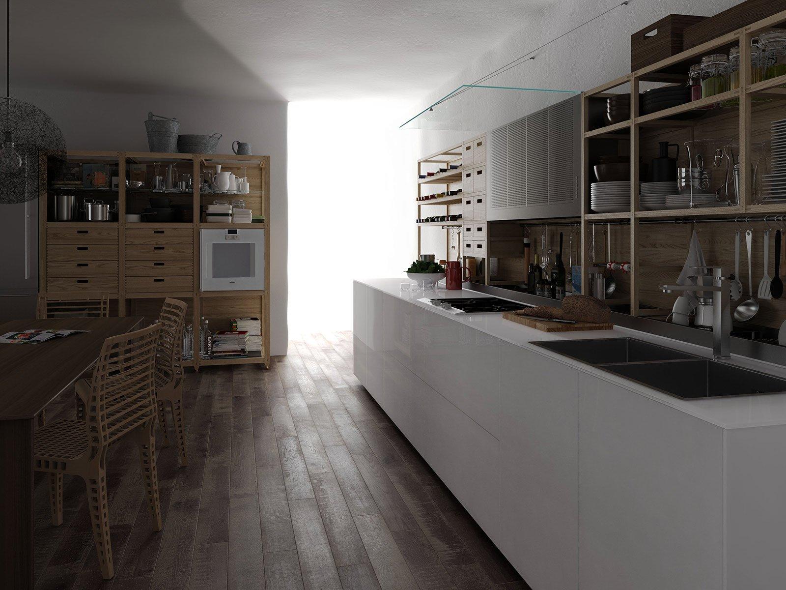 scaffalature metallo e legno: scaffali in legno da giardino: area ... - Scaffali Metallo E Vetro