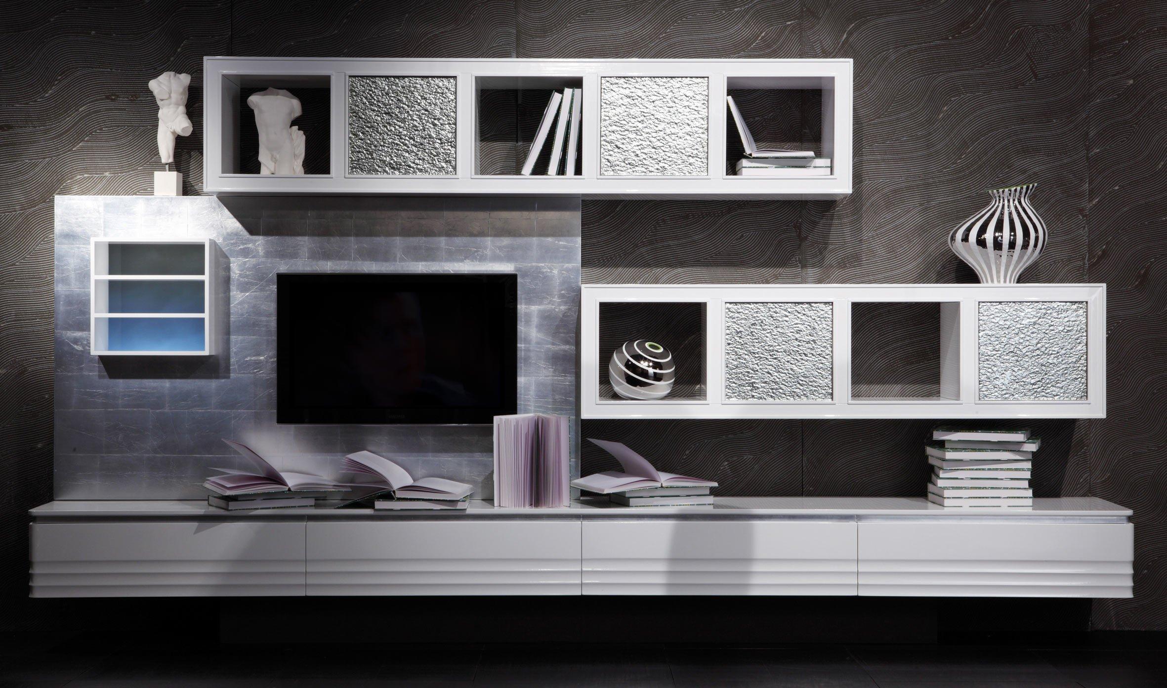 Salone del Mobile 2014: le nuove librerie e pareti attrezzate - Cose ...