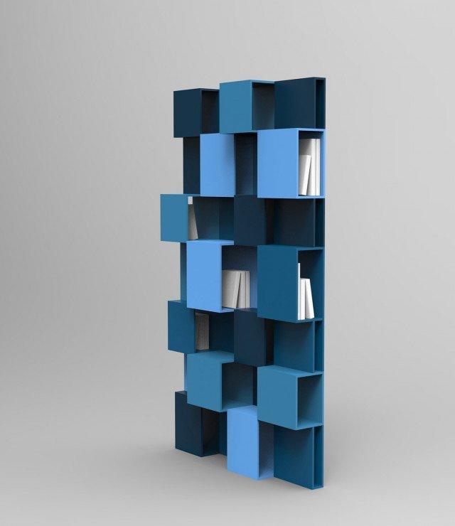 Salone del mobile 2014 le nuove librerie e pareti for Libreria roche bobois