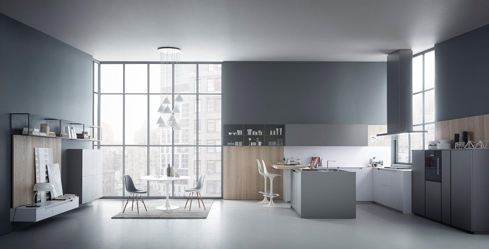 Una Cucina Di Grande Impatto Con Soluzioni In Esclusiva: Le Ante 3D  #71655A 1600 816 Veneta Cucine A Siena