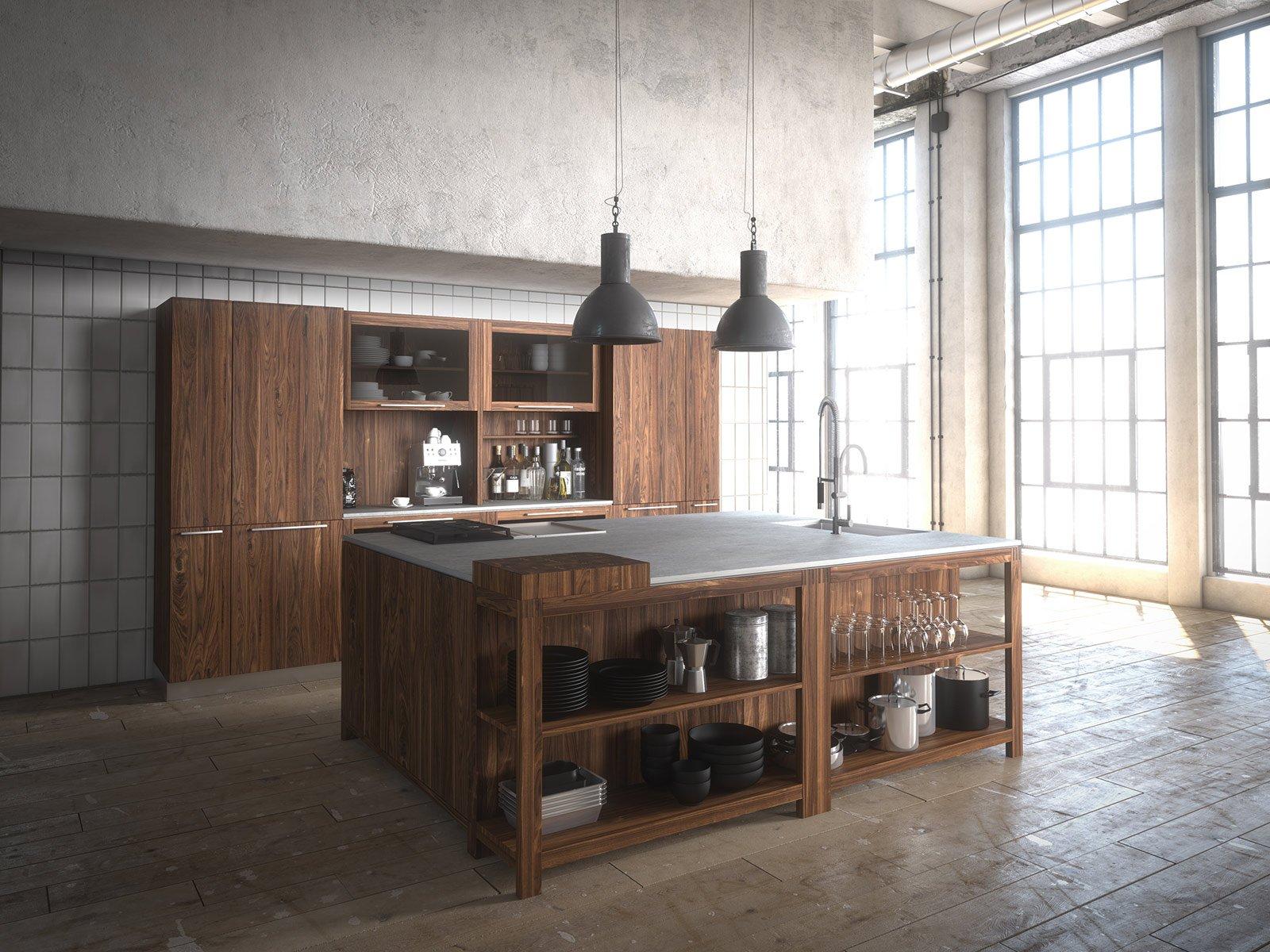 Eurocucina 2014: tendenza legno in primo piano - Cose di Casa