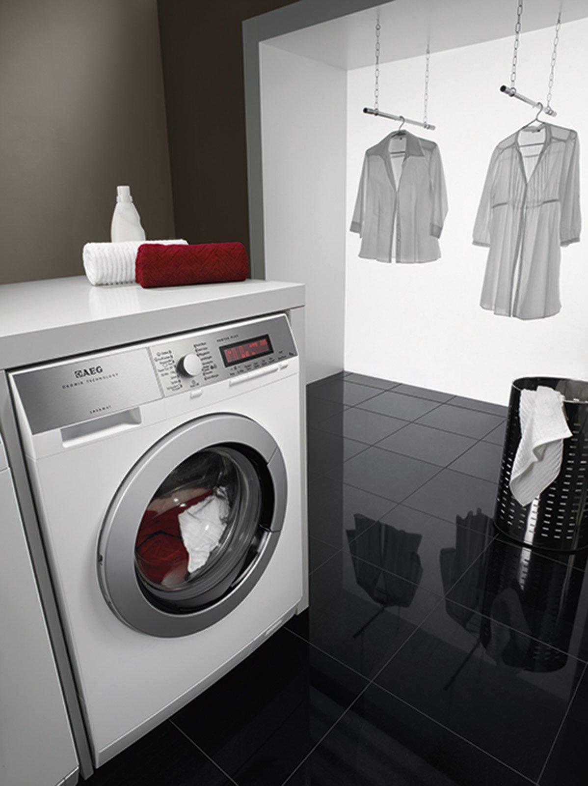 Per lavare stendere e stirare bene cose di casa - Lavatrice altezza 75 ...