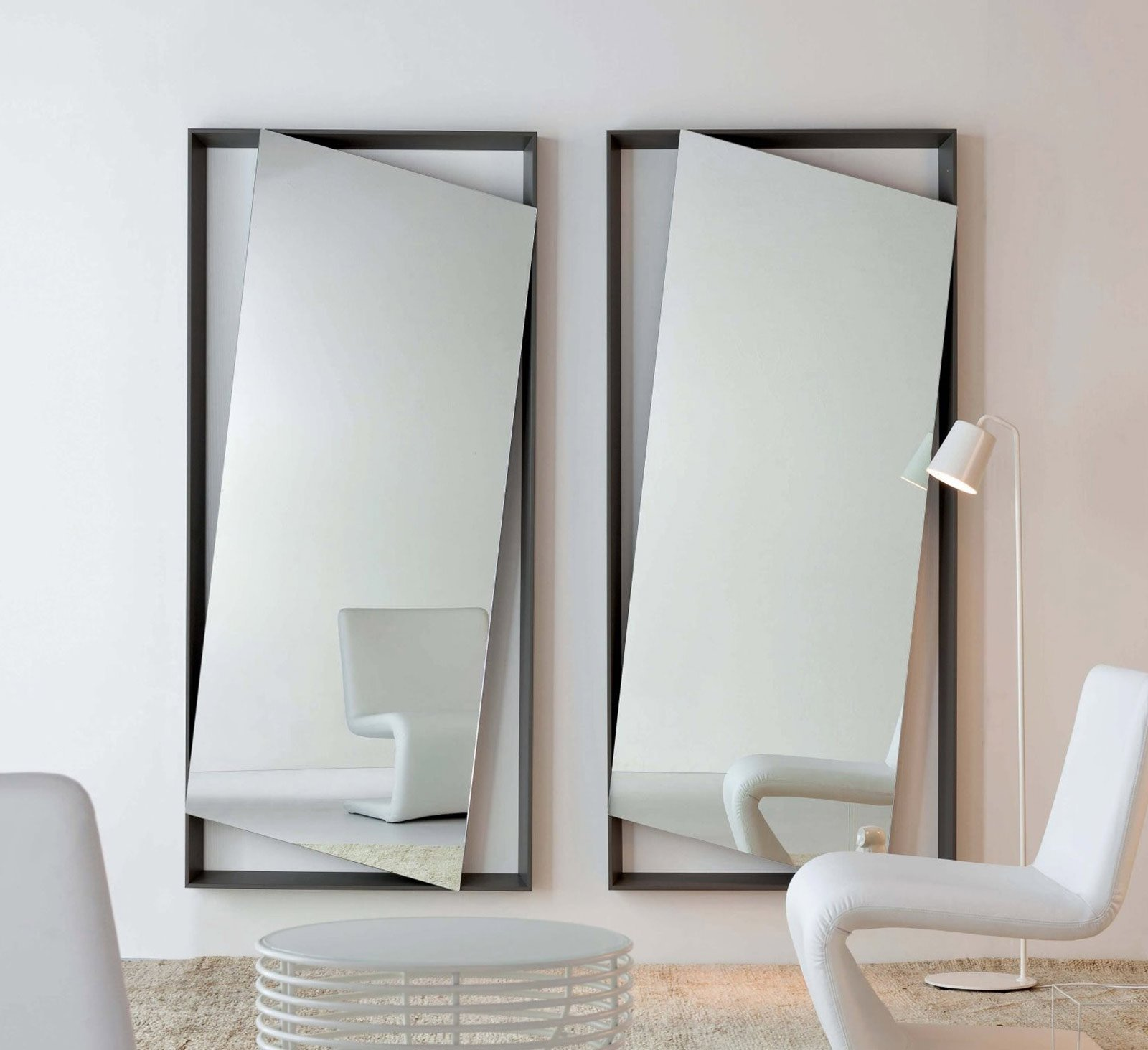 Specchi questione di riflessi cose di casa - Specchio da terra ...