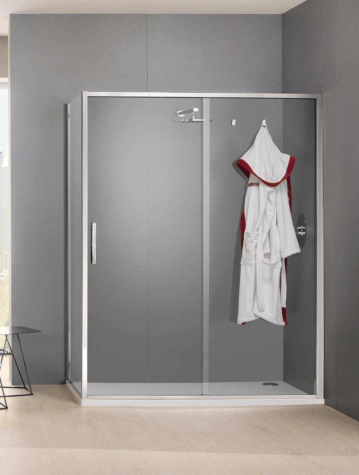 Bagno dettagli di design per la doccia cose di casa - Porta accappatoio da doccia ...