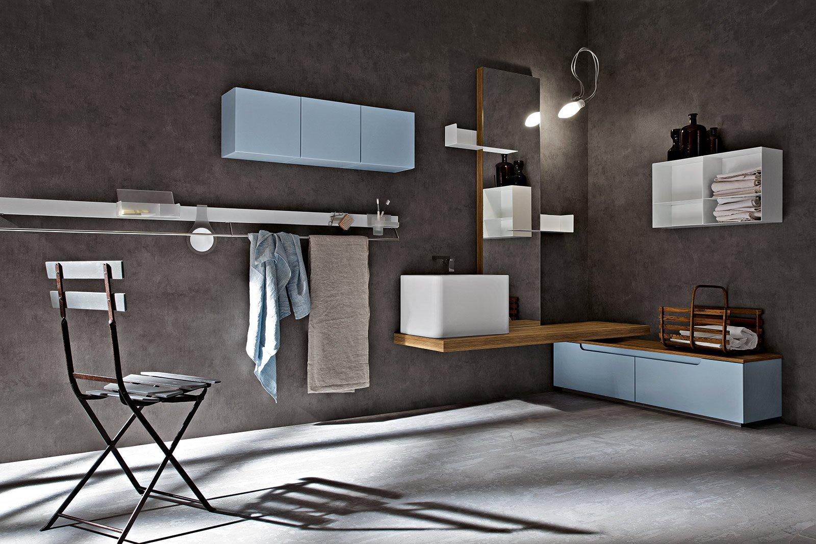 Il nuovo lavabo d 39 appoggio cose di casa - Portaoggetti bagno ...