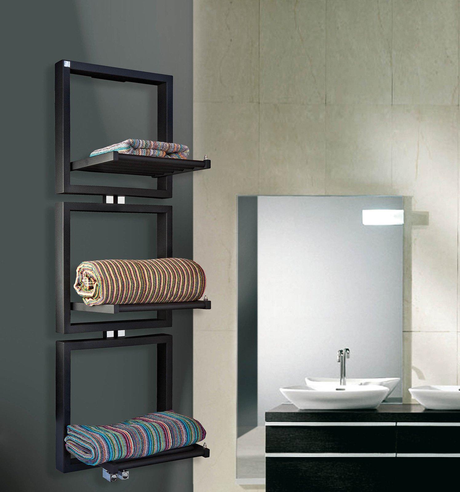 Termoarredi per riscaldare con il design cose di casa - Scaldasalviette da bagno ...