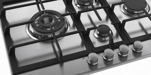 Piani cottura a gas cose di casa for Piano cottura con cappa integrata