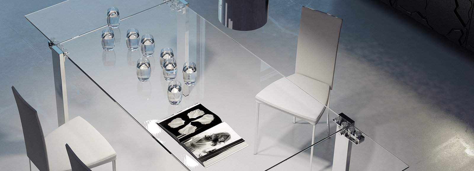 Evi riflessi tavoli allungabili cose di casa for Riflessi tavoli allungabili