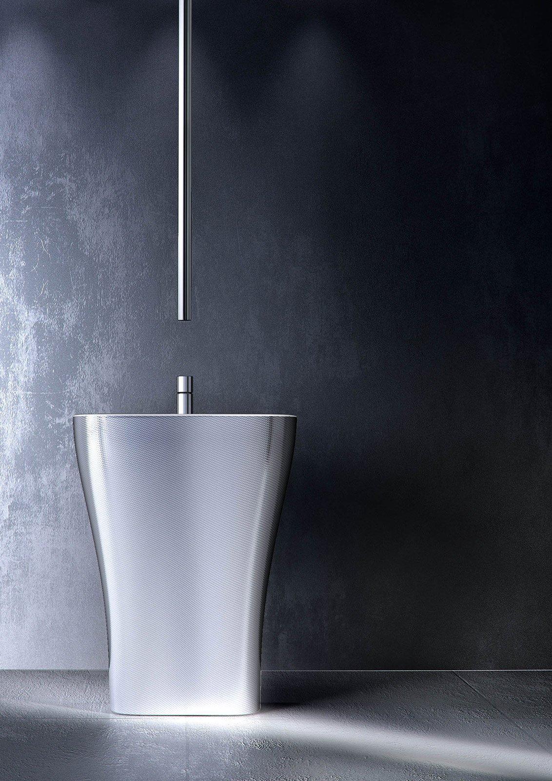 Design week 2014 anche la rubinetteria si rinnova cose for Rubinetti bagno design