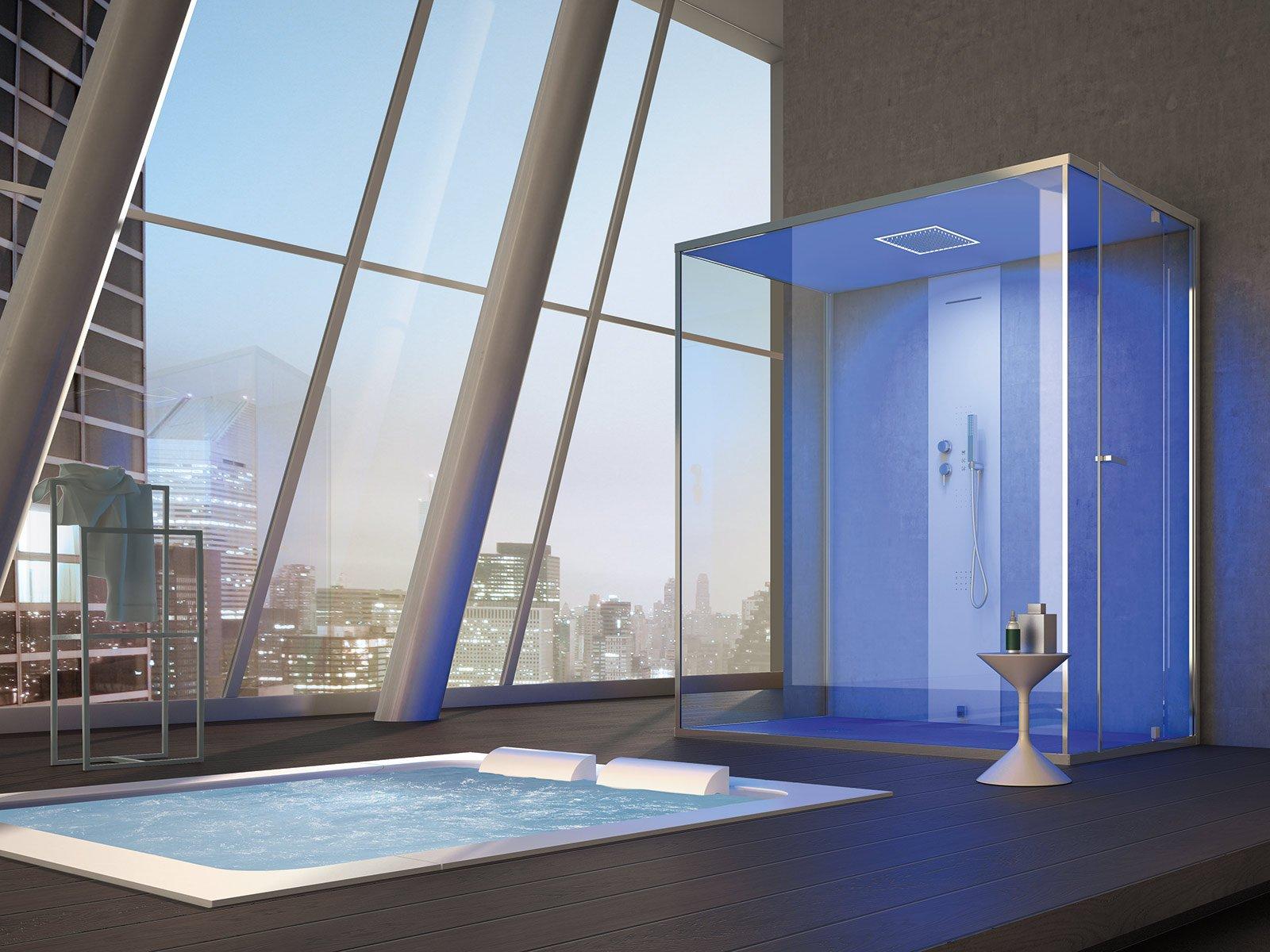 Bagno dettagli di design per la doccia cose di casa