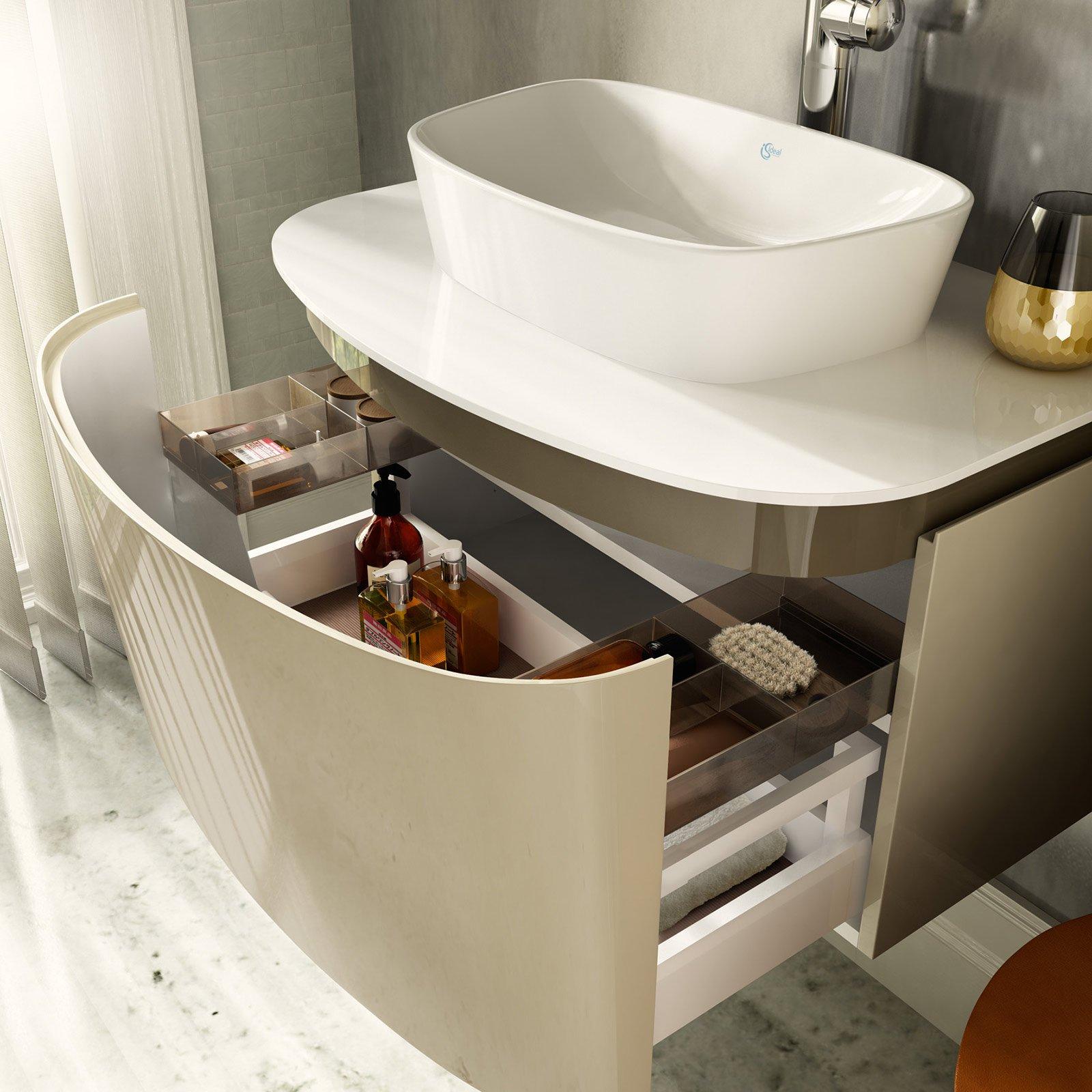 Casa immobiliare accessori piano per lavabo da appoggio for Mobili bagno per lavabo da appoggio