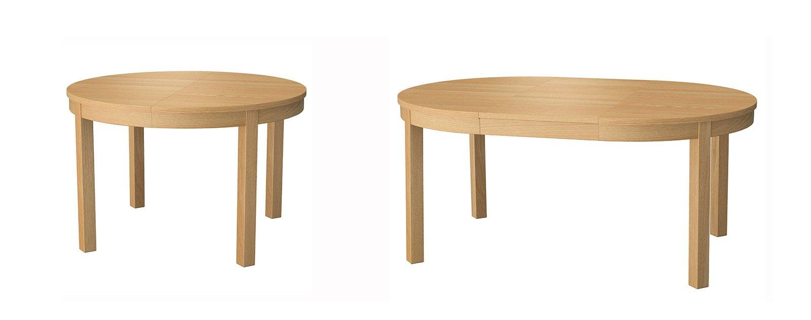 Tavoli allungabili cose di casa - Dimensioni tavolo tondo 4 persone ...