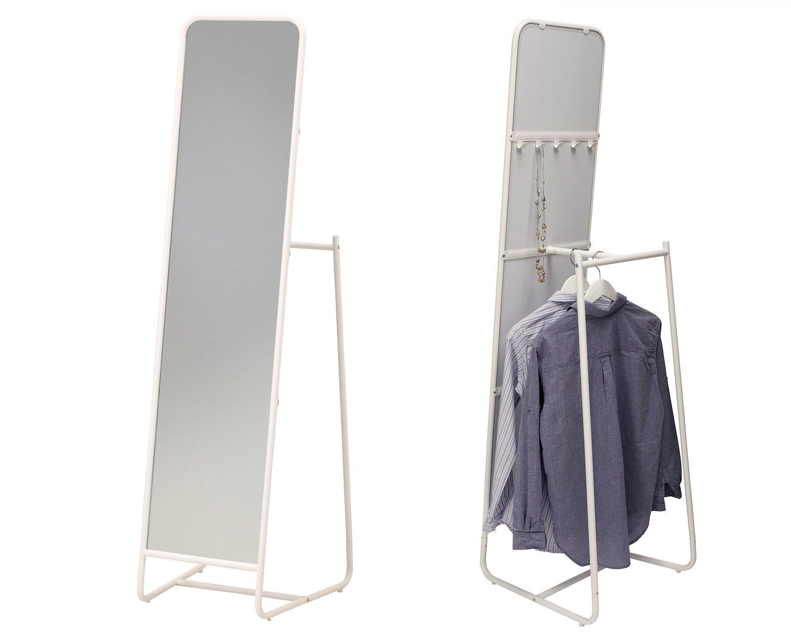 Specchi questione di riflessi cose di casa - Grucce legno ikea ...