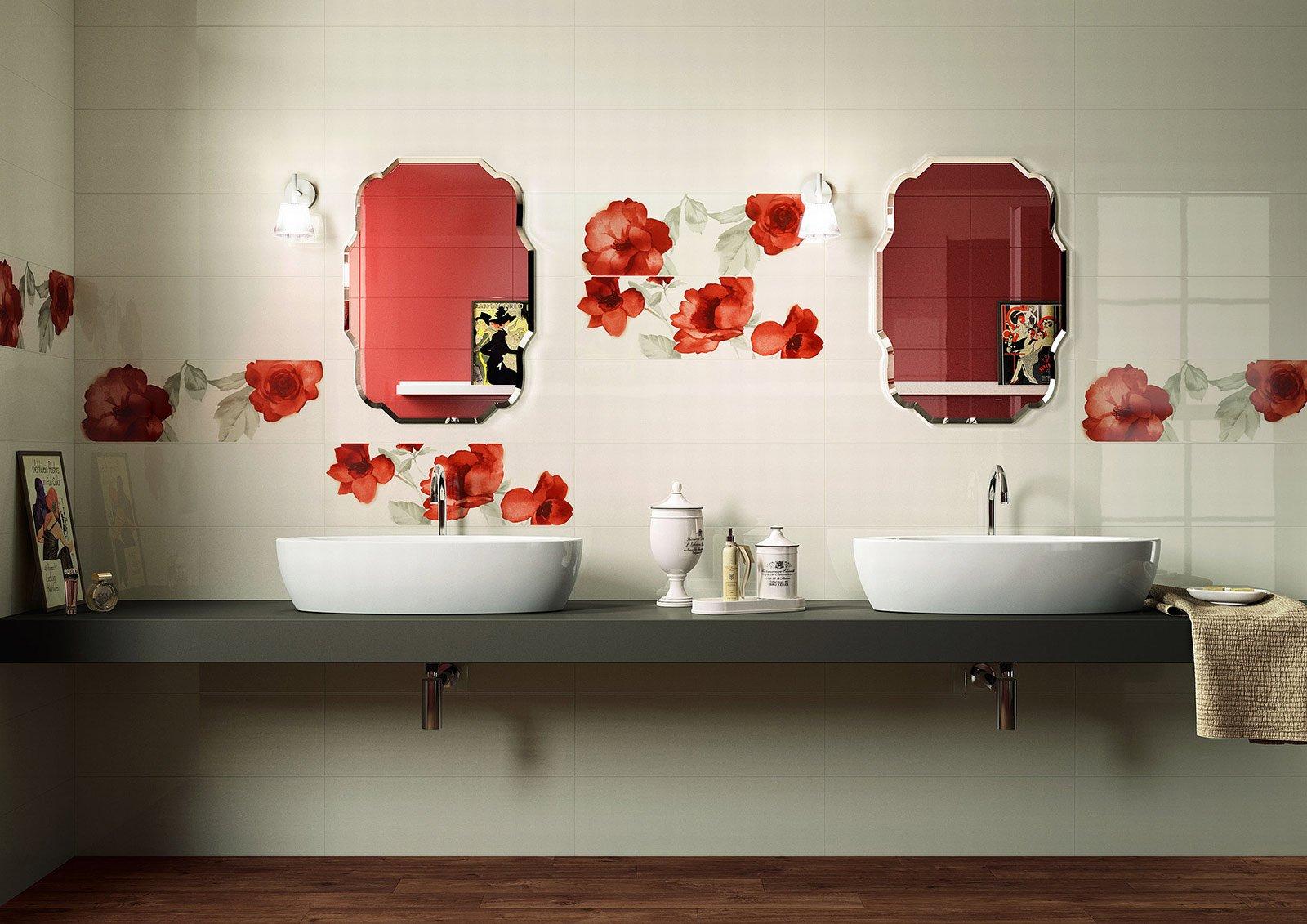 Piastrelle rivestimenti d effetto a parete cose di casa - Piastrelle parete ...