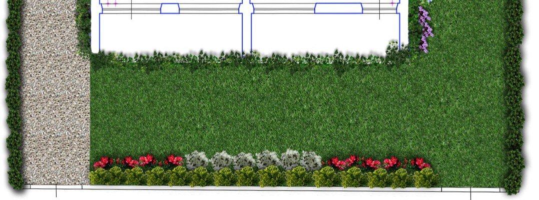 Un progetto per il giardino cose di casa for Giardino 100 mq