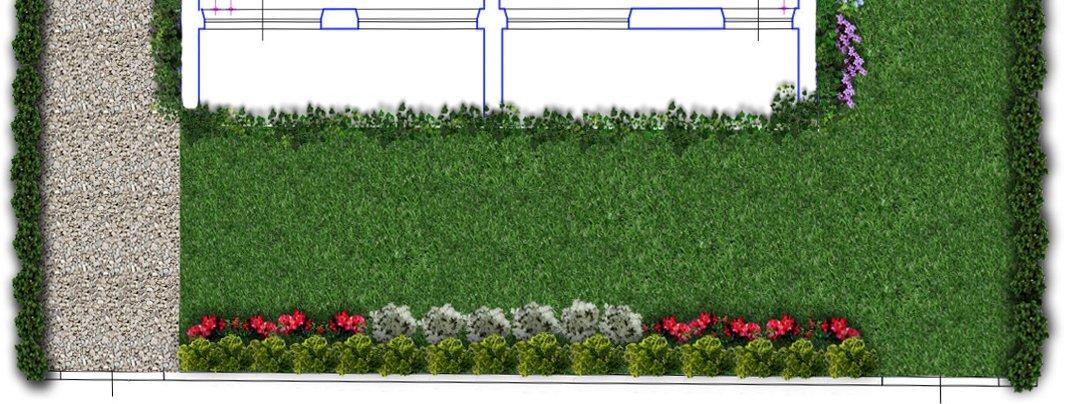 Un progetto per il giardino cose di casa for Progetto aiuole per giardino