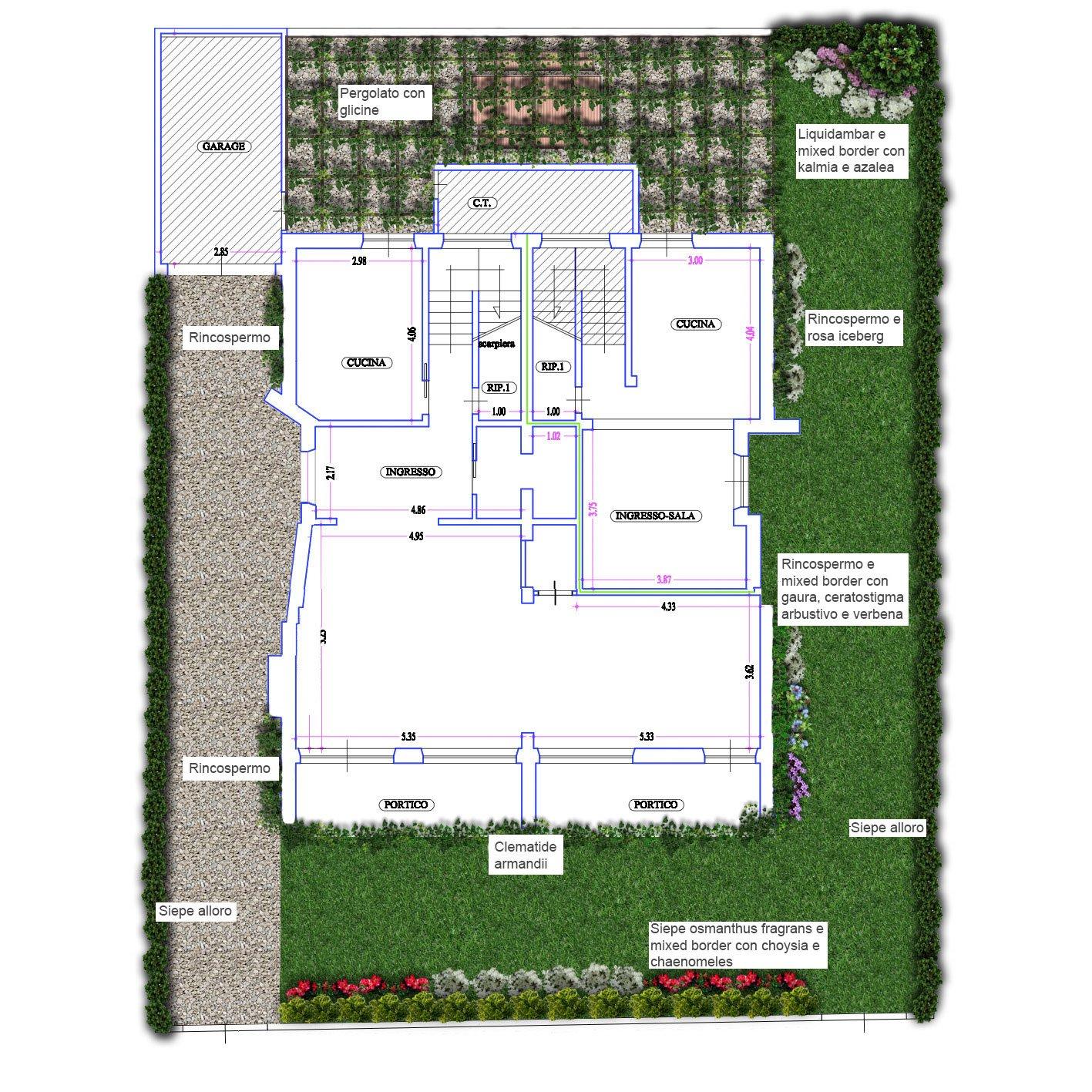 Un progetto per il giardino cose di casa for Progetto di un giardino