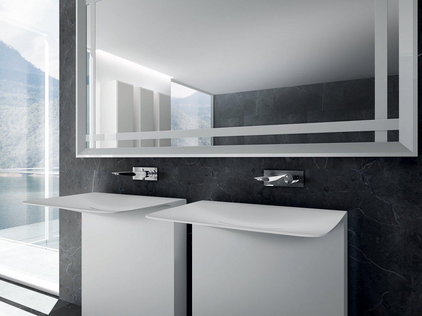 Altezza Vasca Da Terra : Altezza dei lavabi da terra per il bagno stretto lavabo modulare