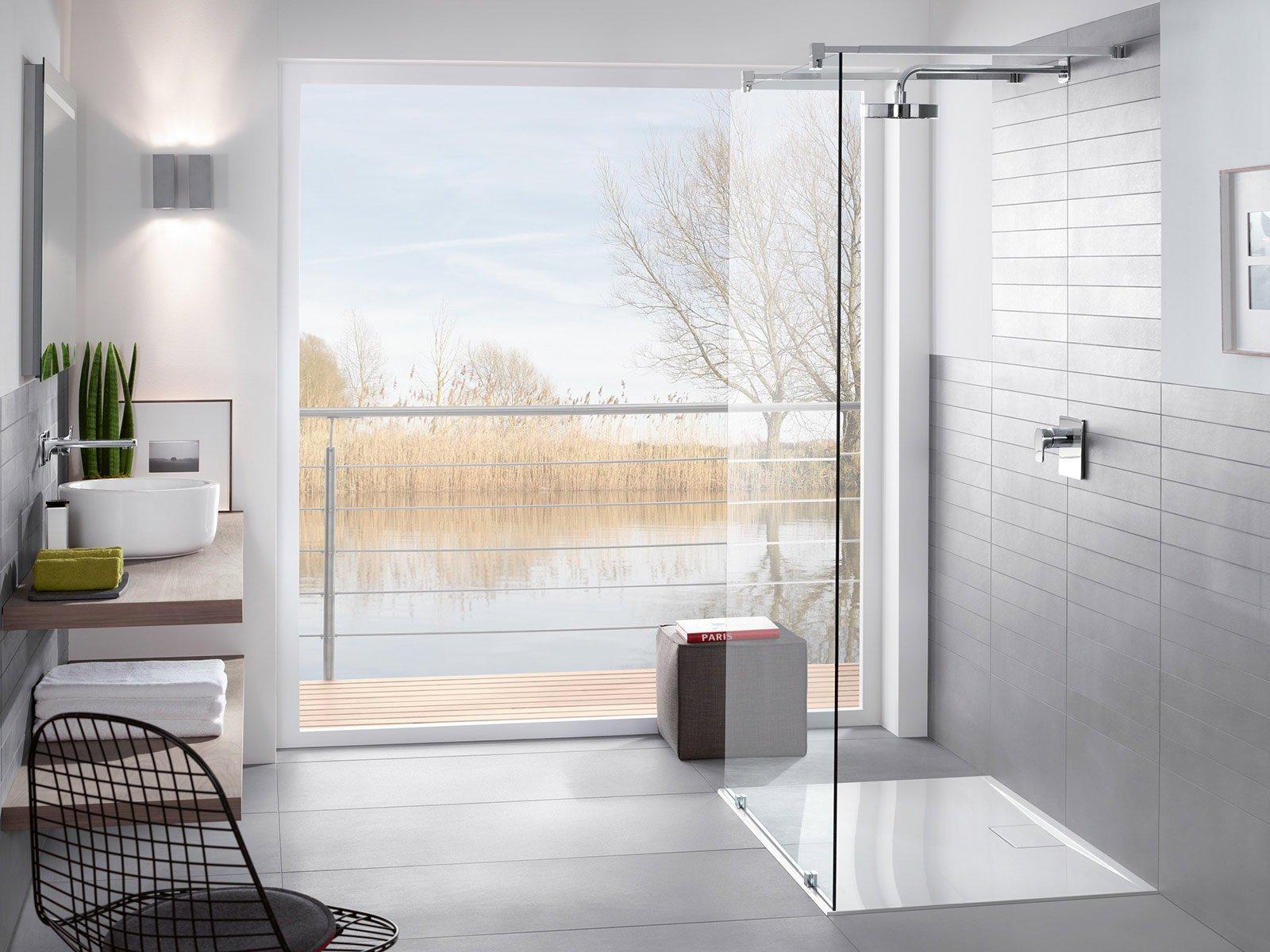 Bagno dettagli di design per la doccia cose di casa - Altezza box doccia ...