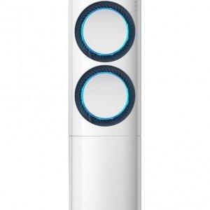 AF9000 è il climatizzatore a colonna di Samsung che grazie ai tre potenti diffusori circolari, utilizzabili singolarmente o combinati tra loro, riscalda e raffredda l'ambiente molto velocemente. Ha capacità raffreddamento di 24.000 Btu/h e ha tecnologia Virus Doctor che aiuta a prevenire e a contrastare le allergie e i problemi respiratori più diffusi generando ioni di idrogeno. Misura L 36 x P 27 x H 195 cm. Prezzo da rivenditore. www.samsung.it