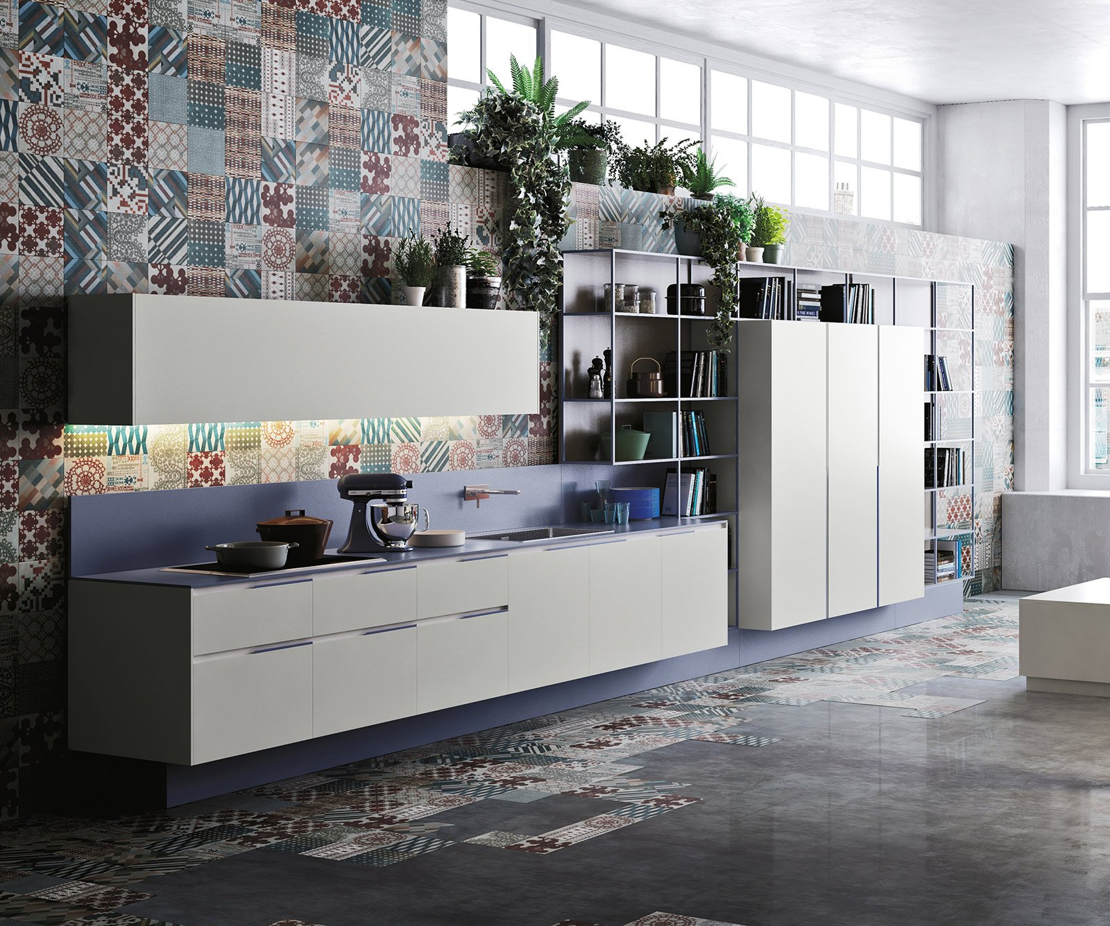2016 Kitchen Color Trends: Salone Del Mobile 2014: Mix Di Materiali Per Le Nuove