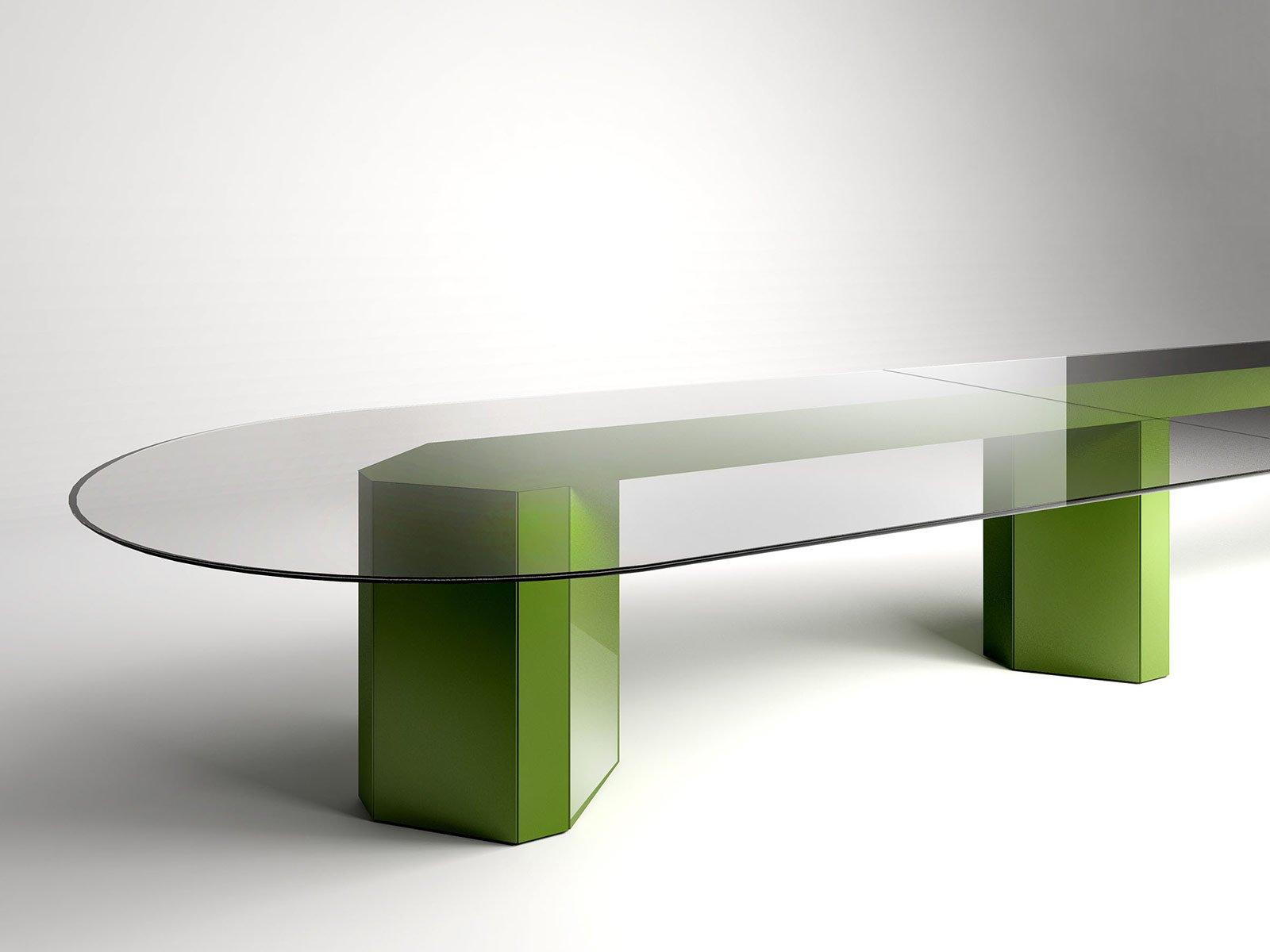 Salone del mobile 2014 il tavolo giovane si veste di - Tavoli gallotti e radice ...