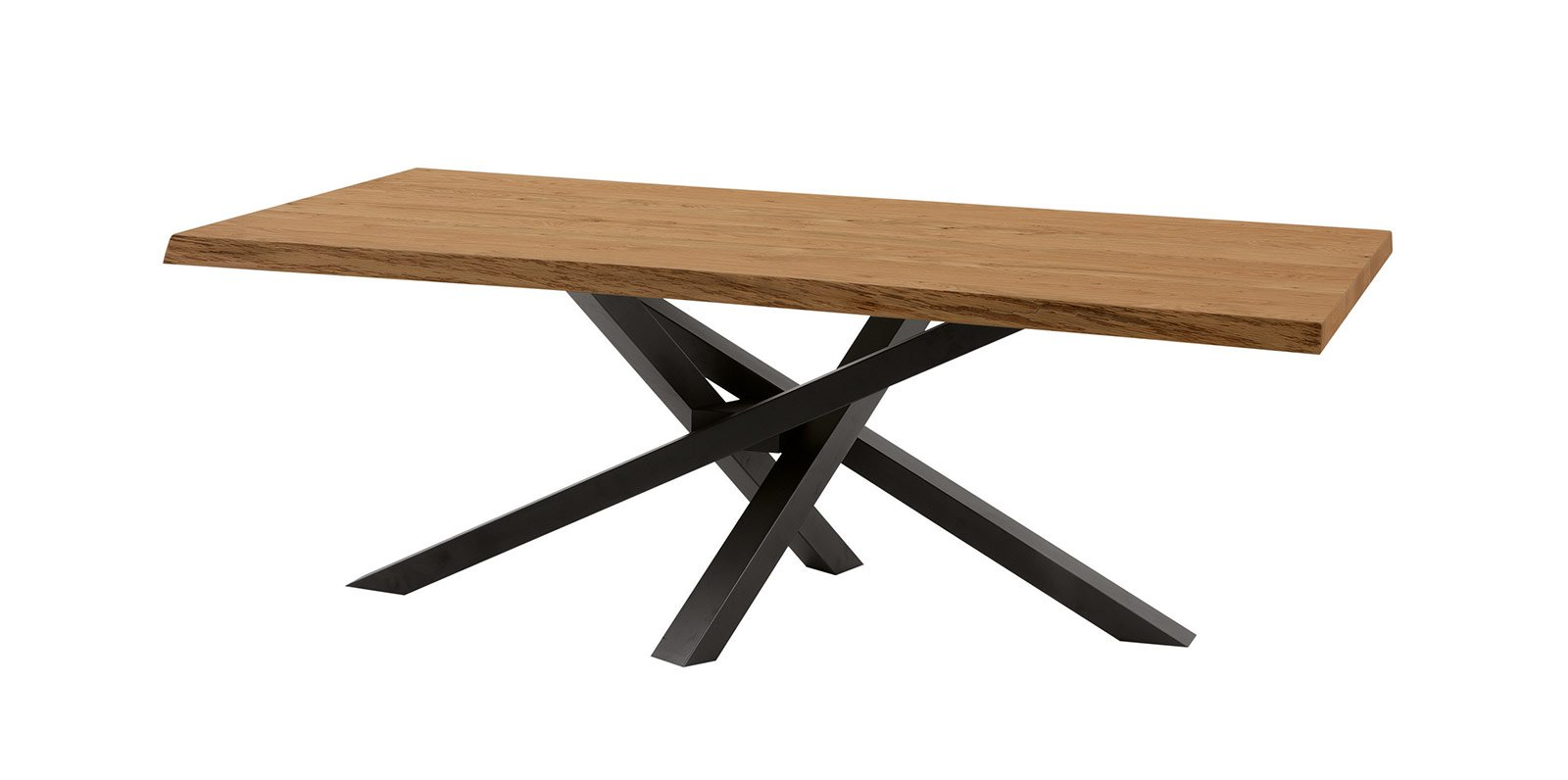 Tavoli con struttura in metallo dal salone del mobile - Gambe in ferro per tavoli ...