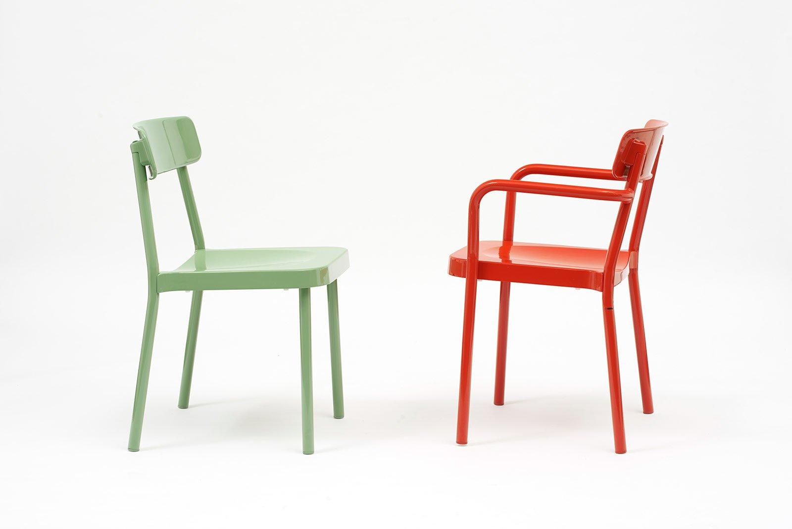 salone del mobile 2014: superfici lavorate o colorate per le sedie ... - Sedie Cucina Colorate