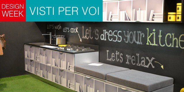 Salone del Mobile 2014: mix di materiali per le nuove cucine