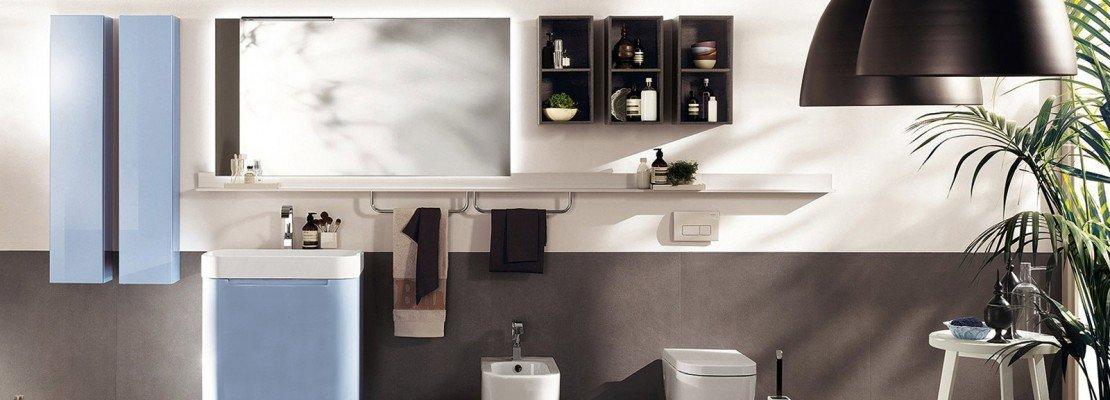 Mobile lavabo a terra sospeso ed extraslim cose di casa - Mobile bagno scavolini ...