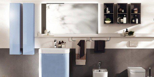 mobile lavabo: a terra, sospeso ed... extraslim - cose di casa - Mobile Lavabo Bagno A Terra