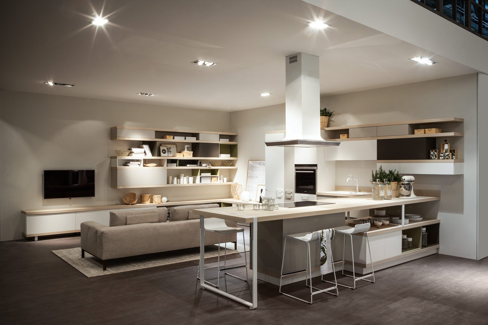 Soggiorno E Cucina - Modelos De Casas - Justrigs.com