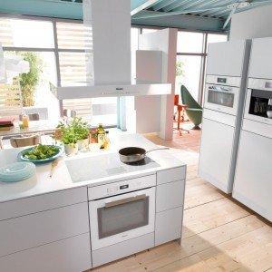 Total white in cucina anche per gli elettrodomestici - Immagini di elettrodomestici ...