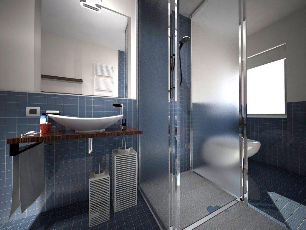 Dove metto la doccia nel bagno lungo e stretto cose di casa - Altezza parapetti finestre normativa ...