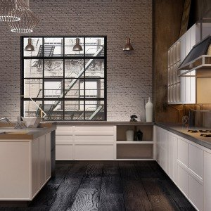 I nuovi modelli di eurocucina 2014 con design r tro o for Piani di casa con vista sull acqua