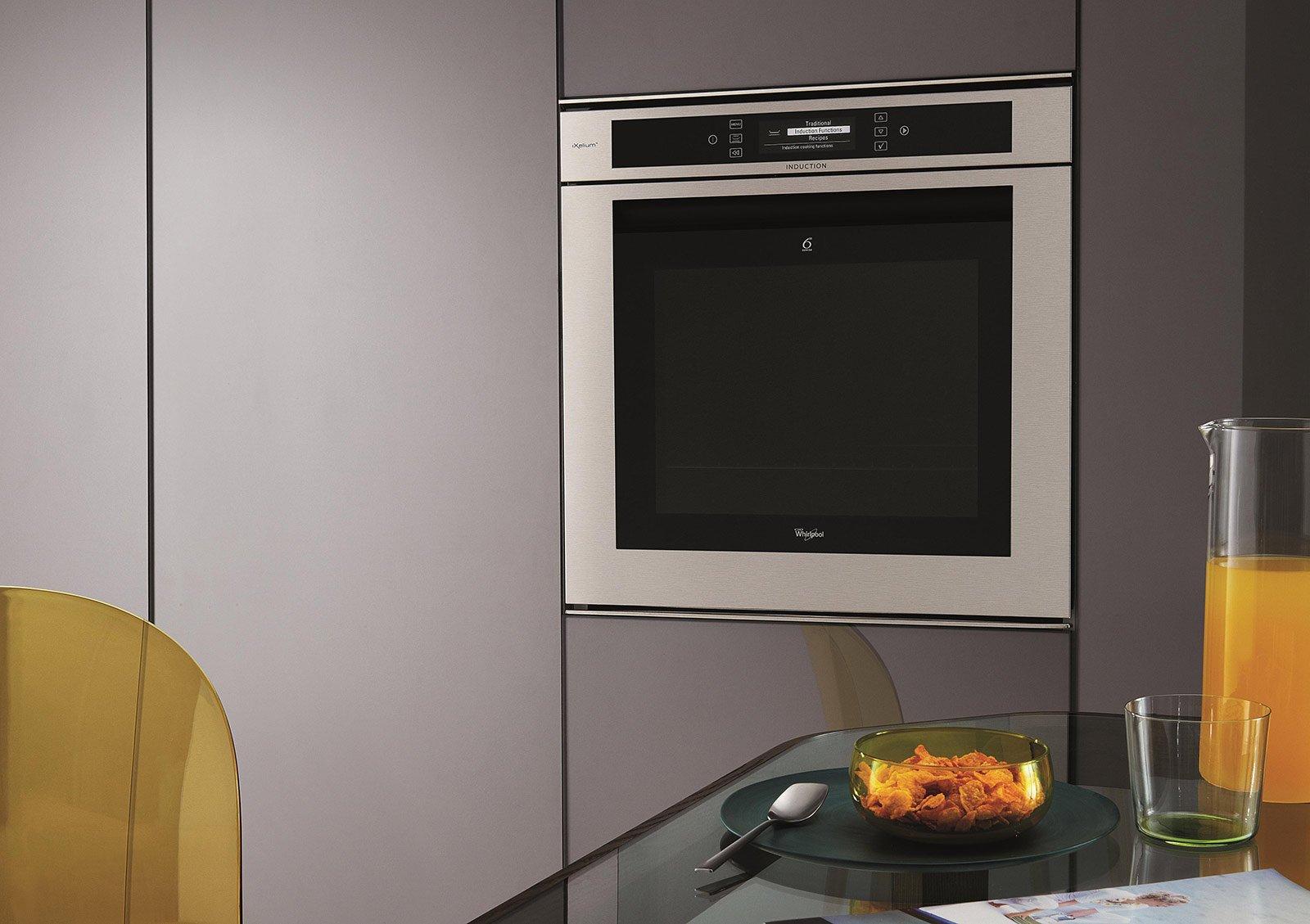I saloni 2014 in cucina lavastoviglie e forni nuovi e innovativi cose di casa - Forno sesto senso whirlpool ...