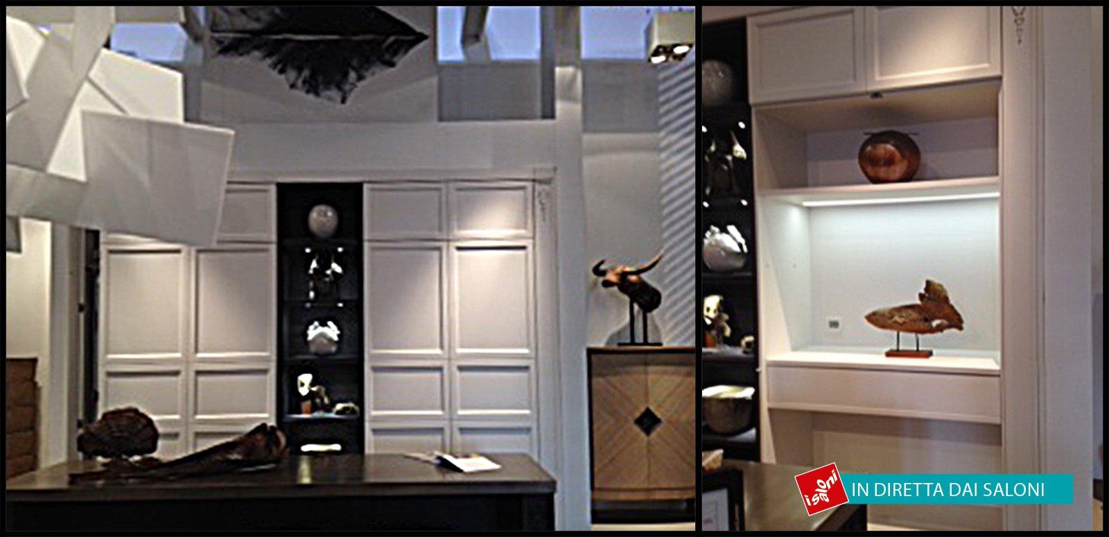 Salone del Mobile 2014: contenitori e madie con superfici d ...